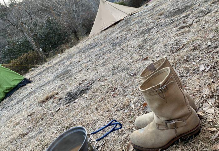 キャンプ始めました。